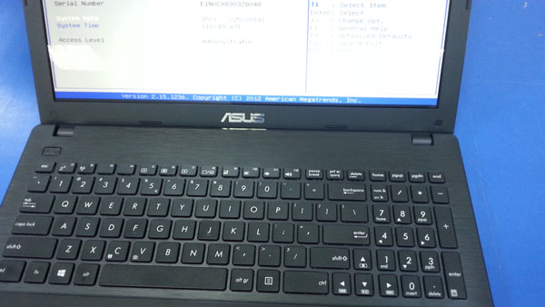 Laptop Asus Quad-Core X551MA