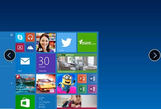 Noul Windows 10