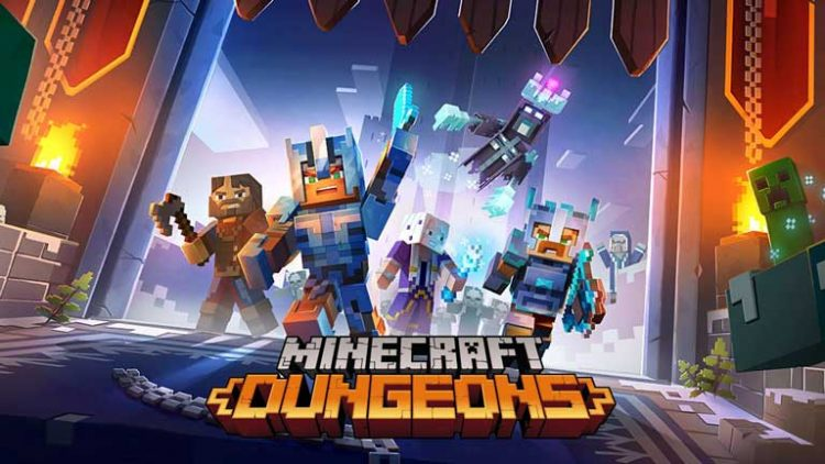 minecraft dungeon cross play
